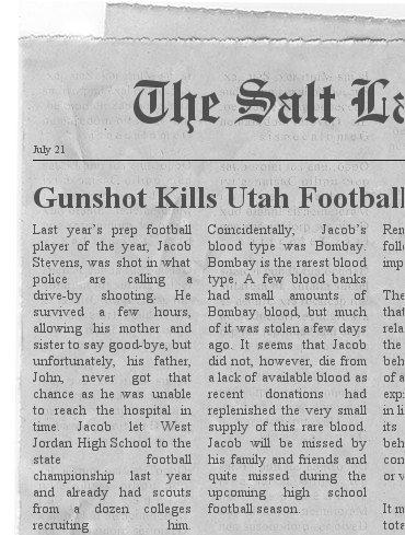 Gunshot Kills Utah Football Prodigy