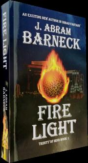 Fire Light one paperback book